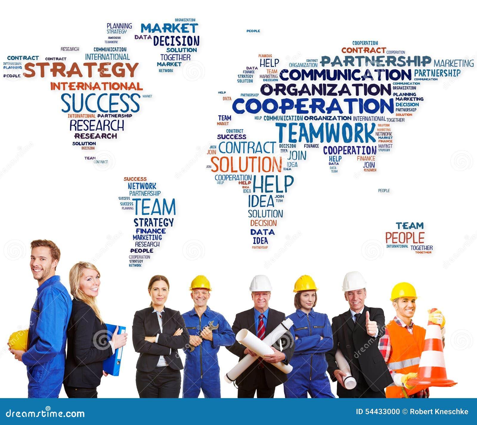 Internationale Teamzusammenarbeit