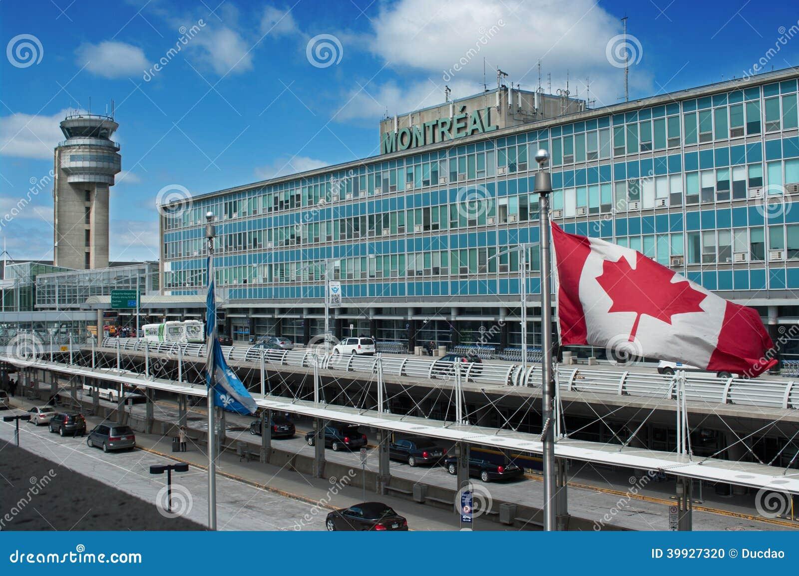 Flughafen Montreal Ankunft