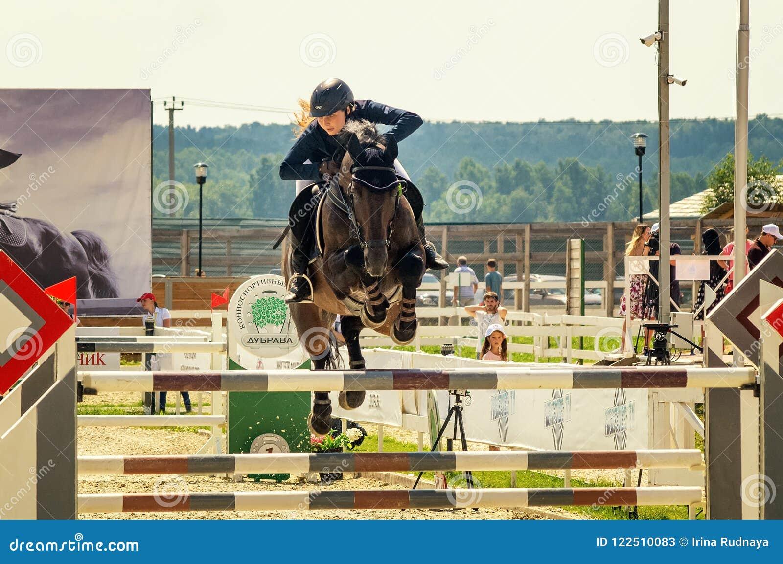 Internationales Pferdespringende Wettbewerbe, Russland, Ekaterinburg, 28 07 2018