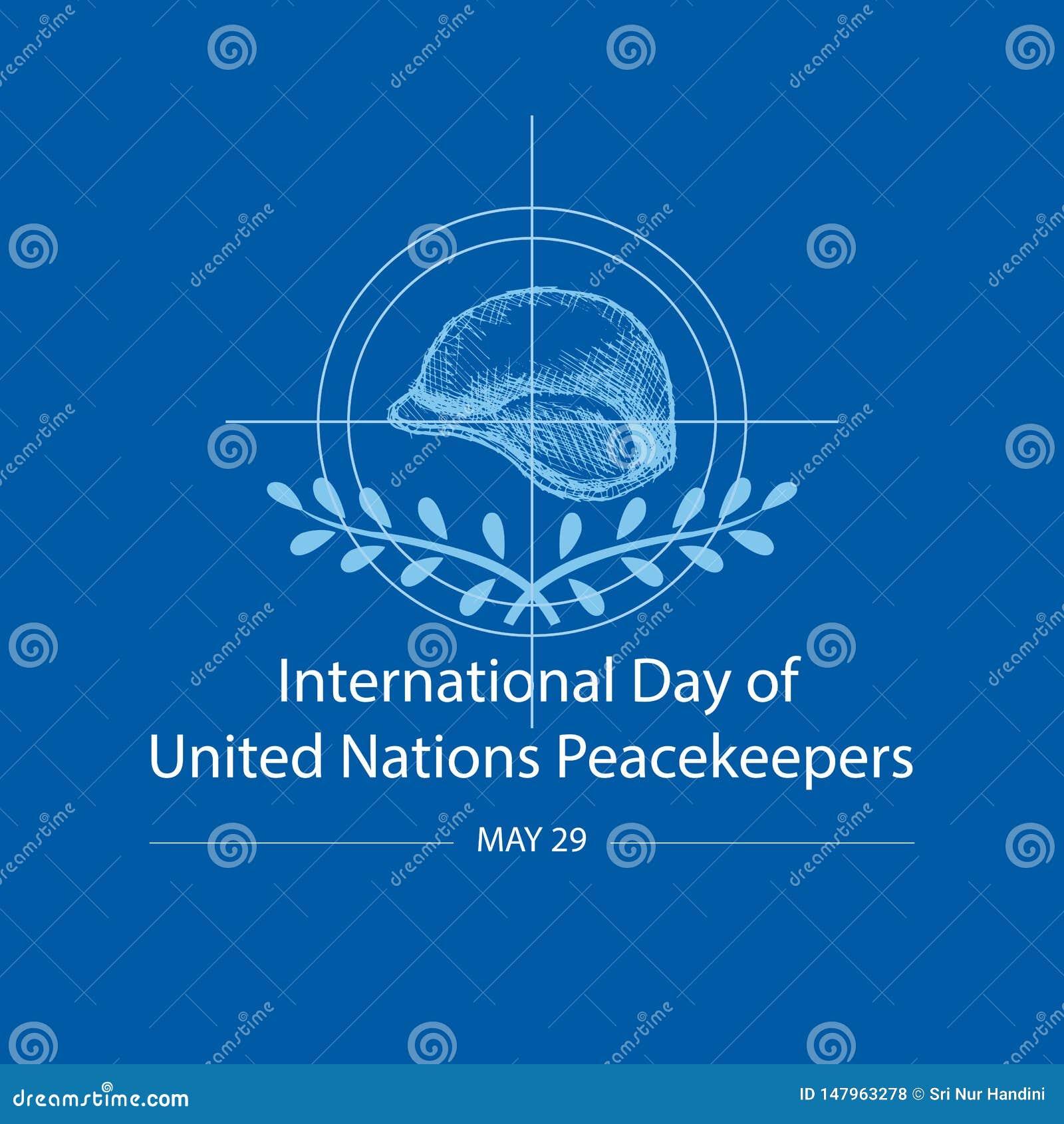 Internationell dag av F?renta Nationernafredsbevarare