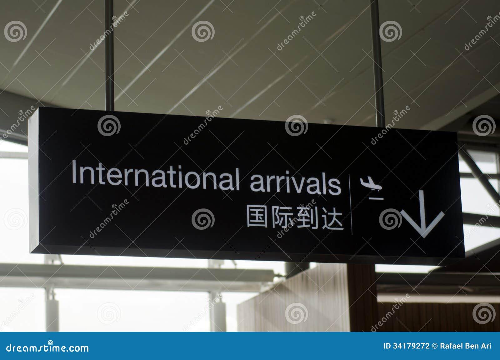 Internationella ankomster
