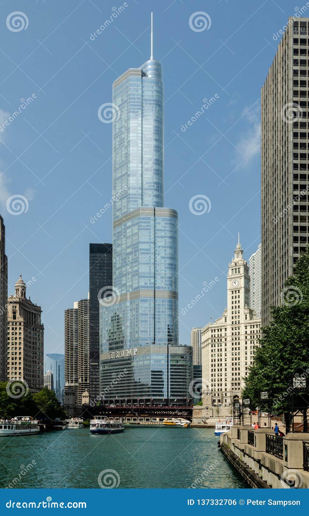Internationellt hotell för trumf & torn, Chicago