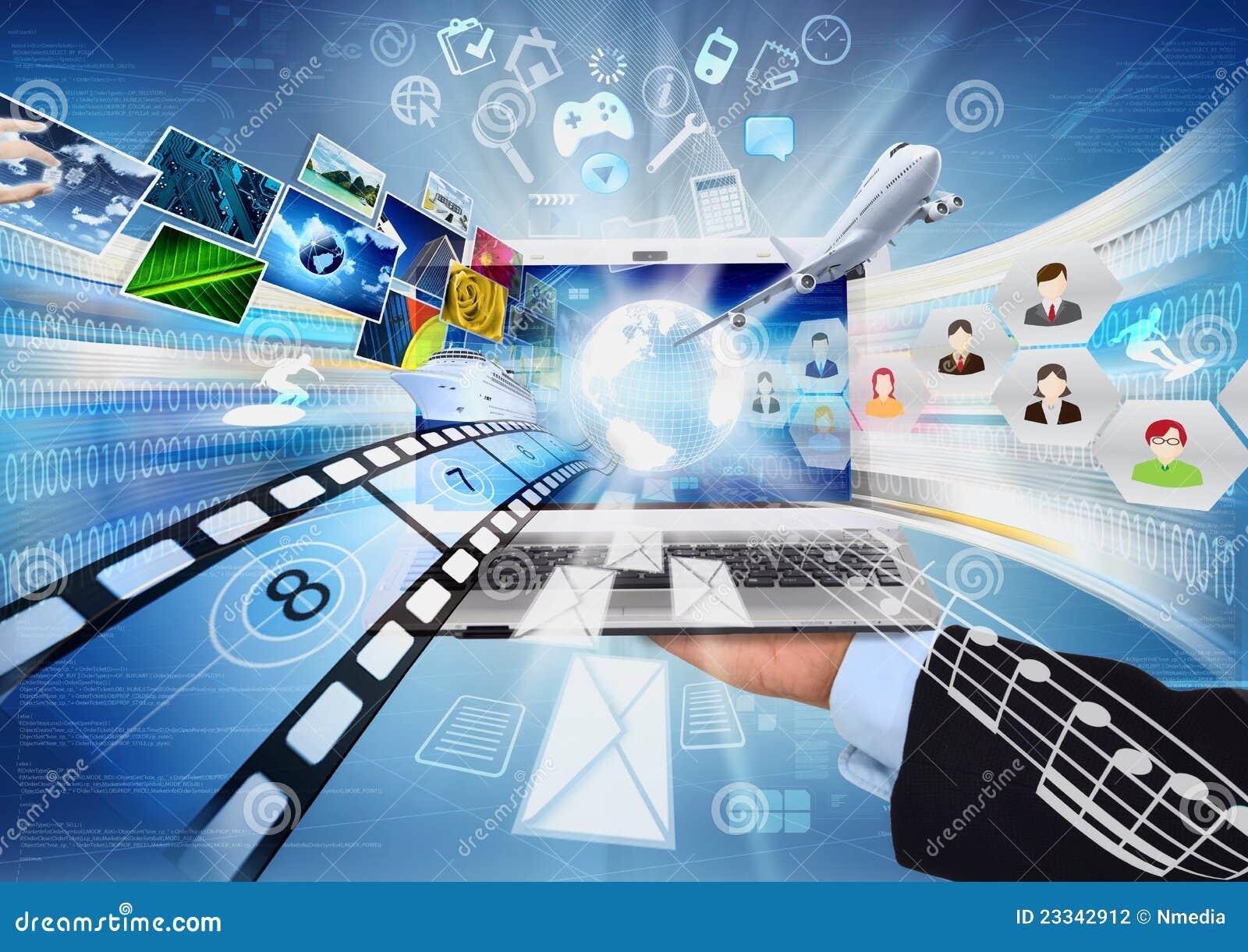 Internet & compartecipazione di multimedia