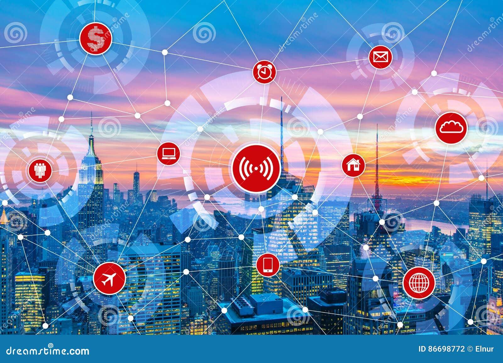 Internet av sakerbegreppet i staden