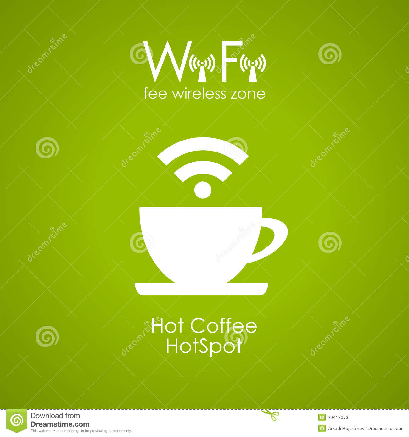 Stock Photos Inter  Cafe Poster Image29418073 on wire connection symbol