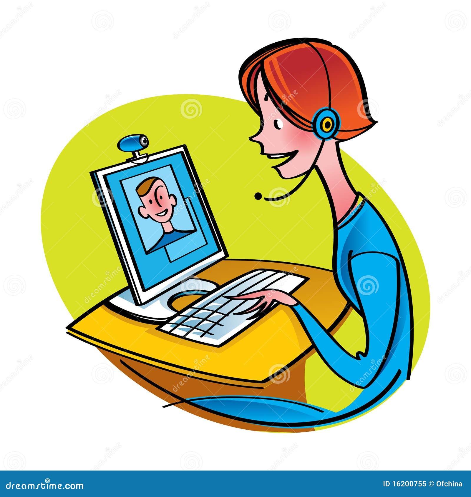 Chatting Illustrations & Vectors
