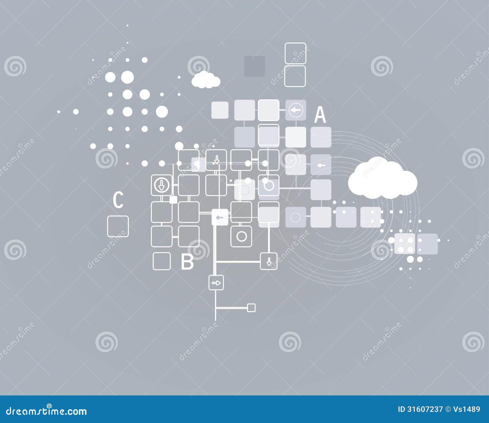 Internet Computer New Technology Concept Business ...