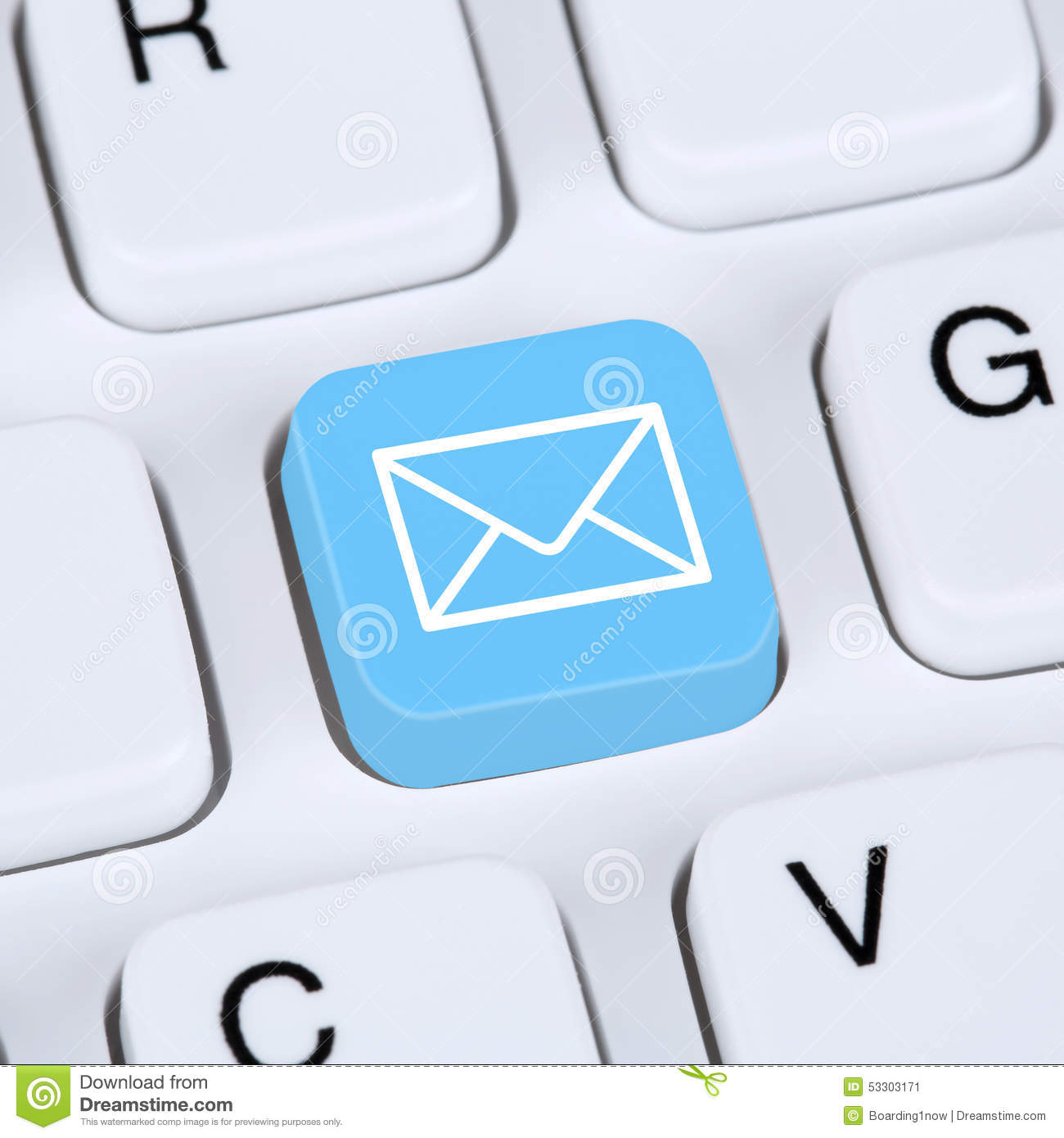 Internet concept sending e mail or email on computer keyboard stock internet concept sending e mail or email on computer keyboard publicscrutiny Images