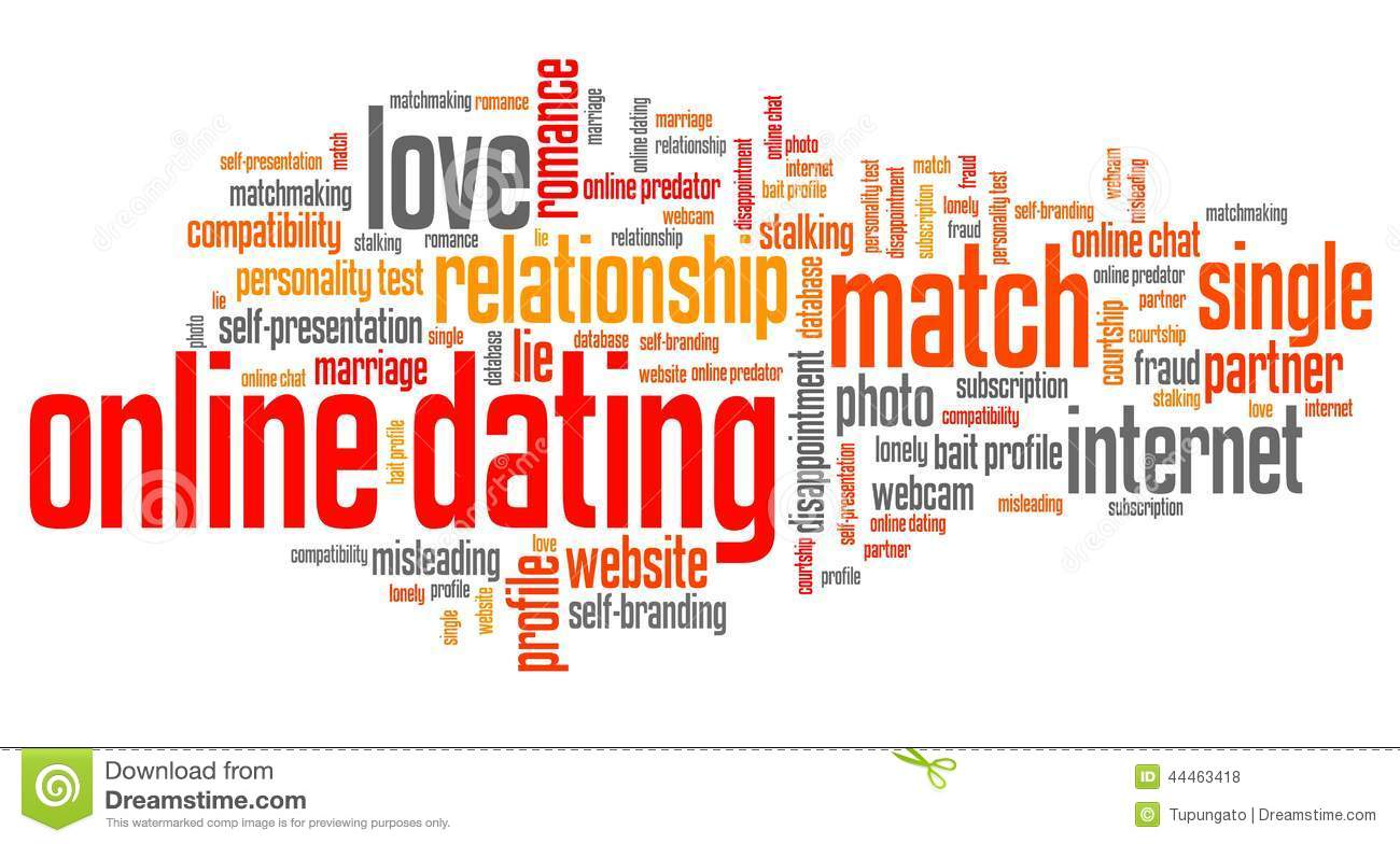 Online dating word slices