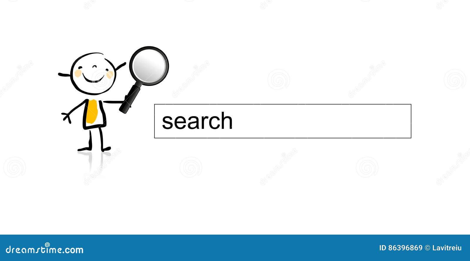 Internet de la búsqueda de los niños