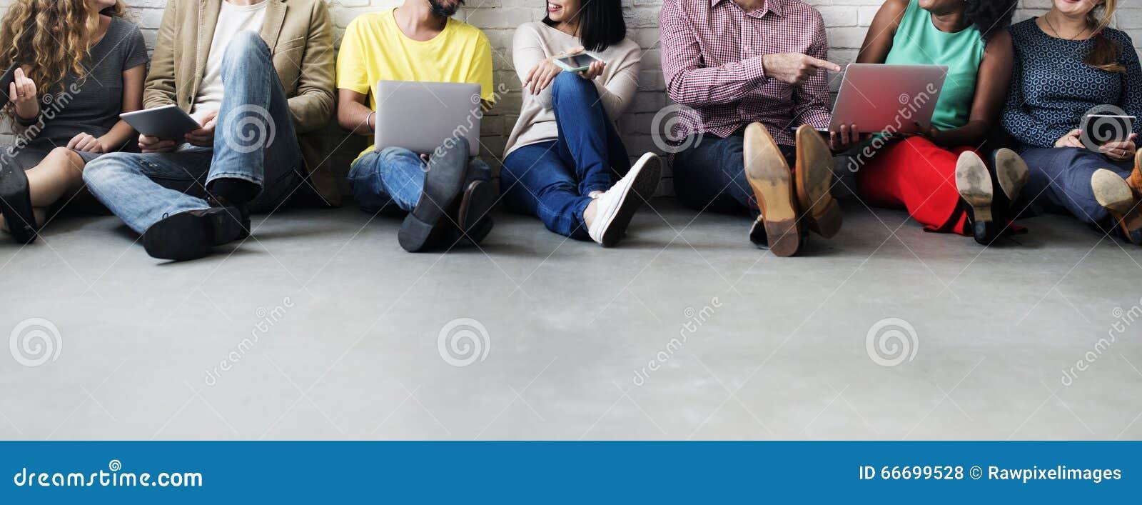 Internet-de Technologieconcept van het Verbindings Digitaal Apparaat