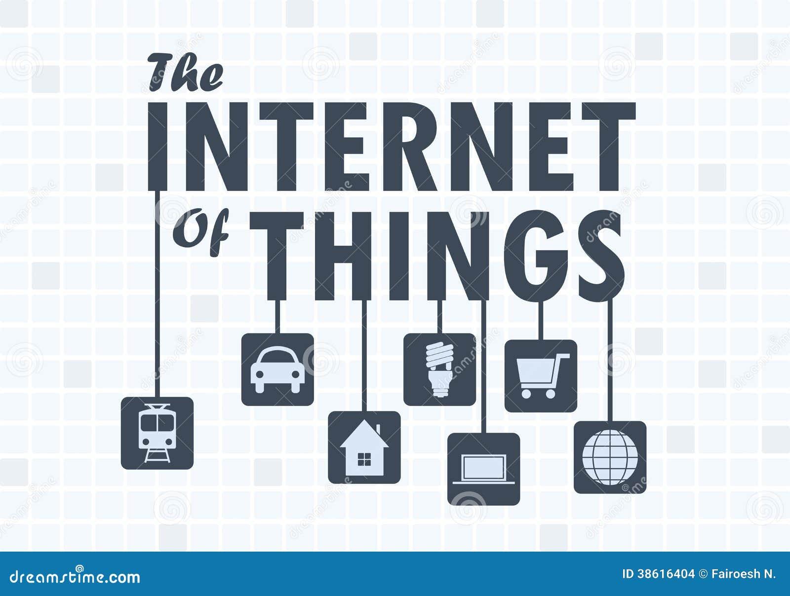Internet do conceito das coisas