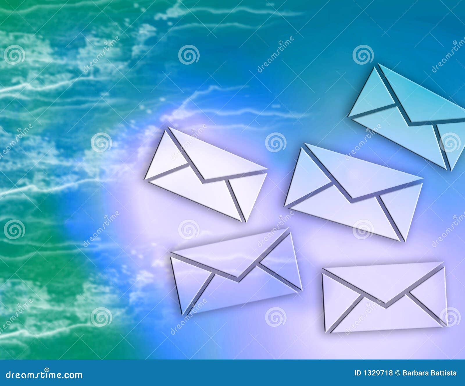 Internet e-mail Berichten