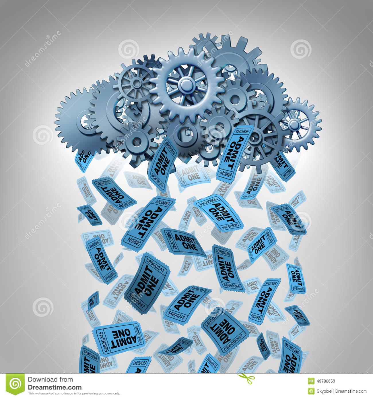 Internet Entertainment stock illustration. Image of ...