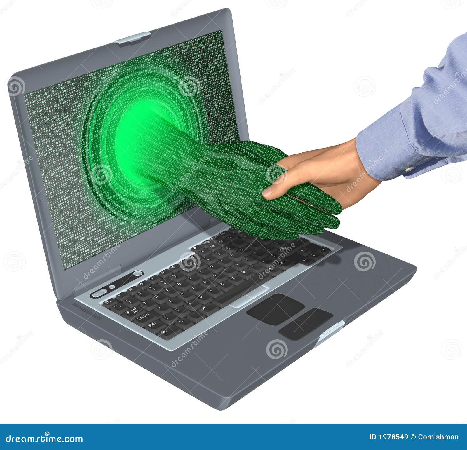 Internet för affärsavtal