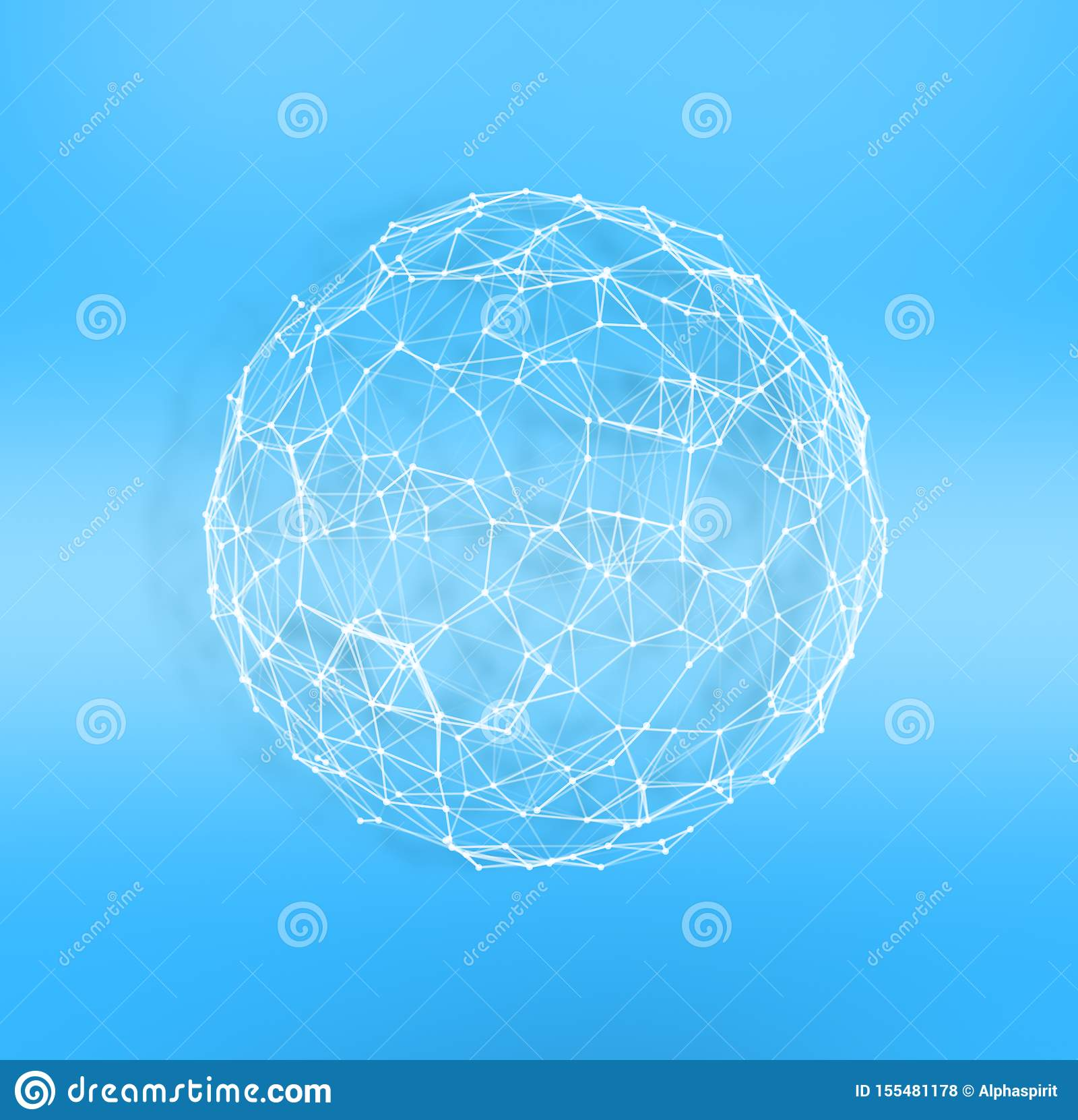 Internet globe. Concept of connection and network.