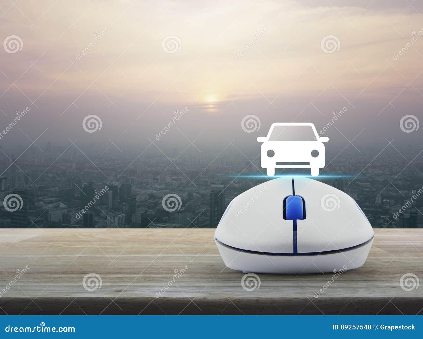 Internet-het concept van de vervoersdienst