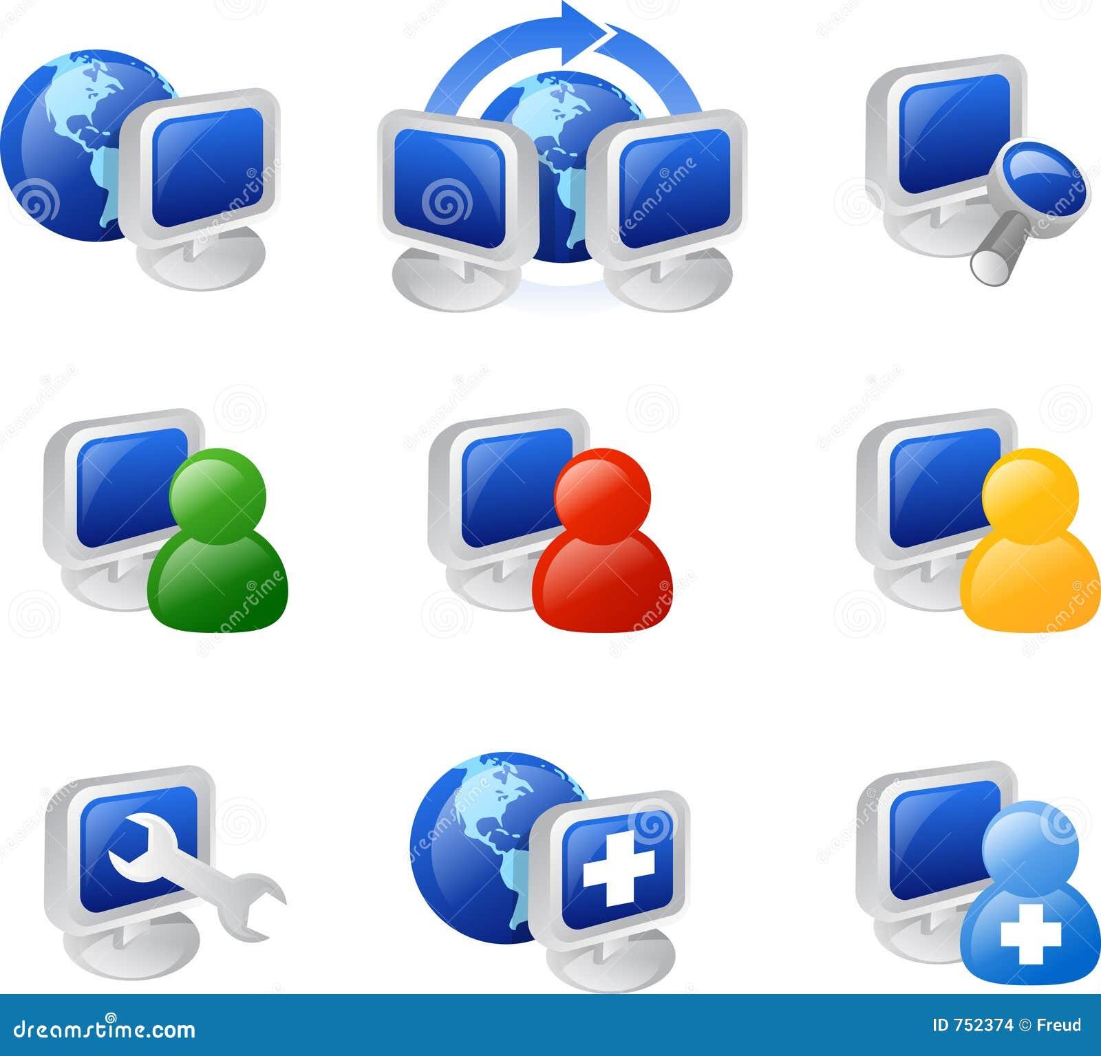 Internet ikoną sieci