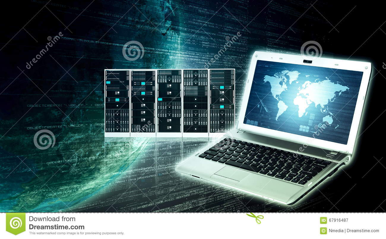 Internet information technology royalty free stock image for Internet plante
