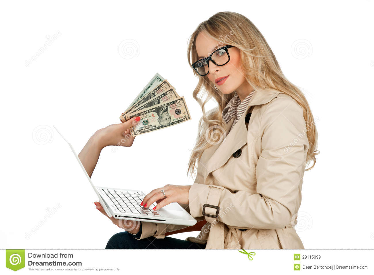 Internet Money Concept Royalty Free Stock Images - Image: 29115999