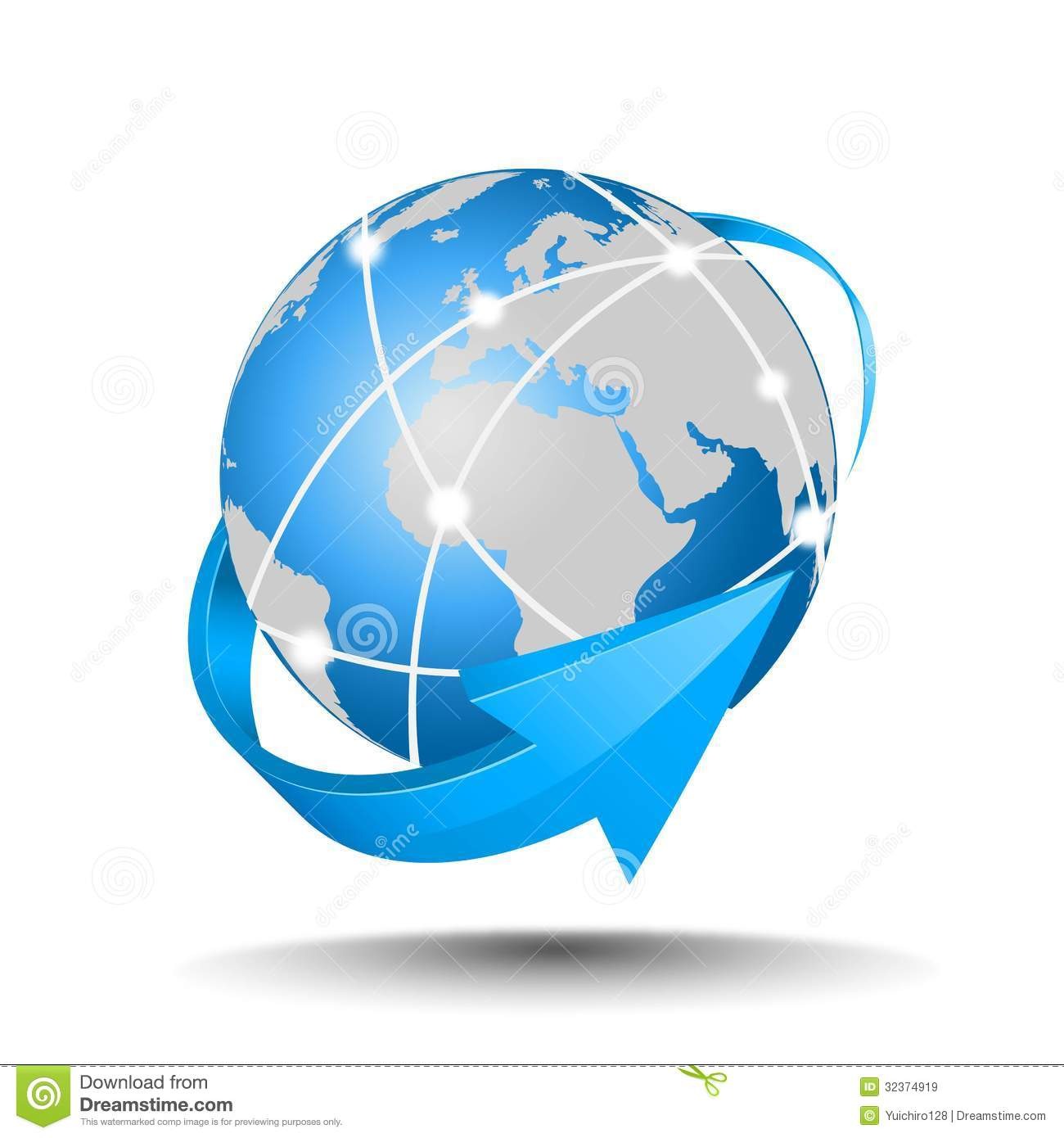 Internet Network Royalty Free Stock Images - Image: 32374919