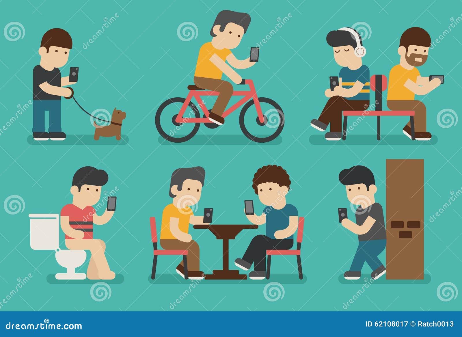 Internet- och smartphoneböjelse