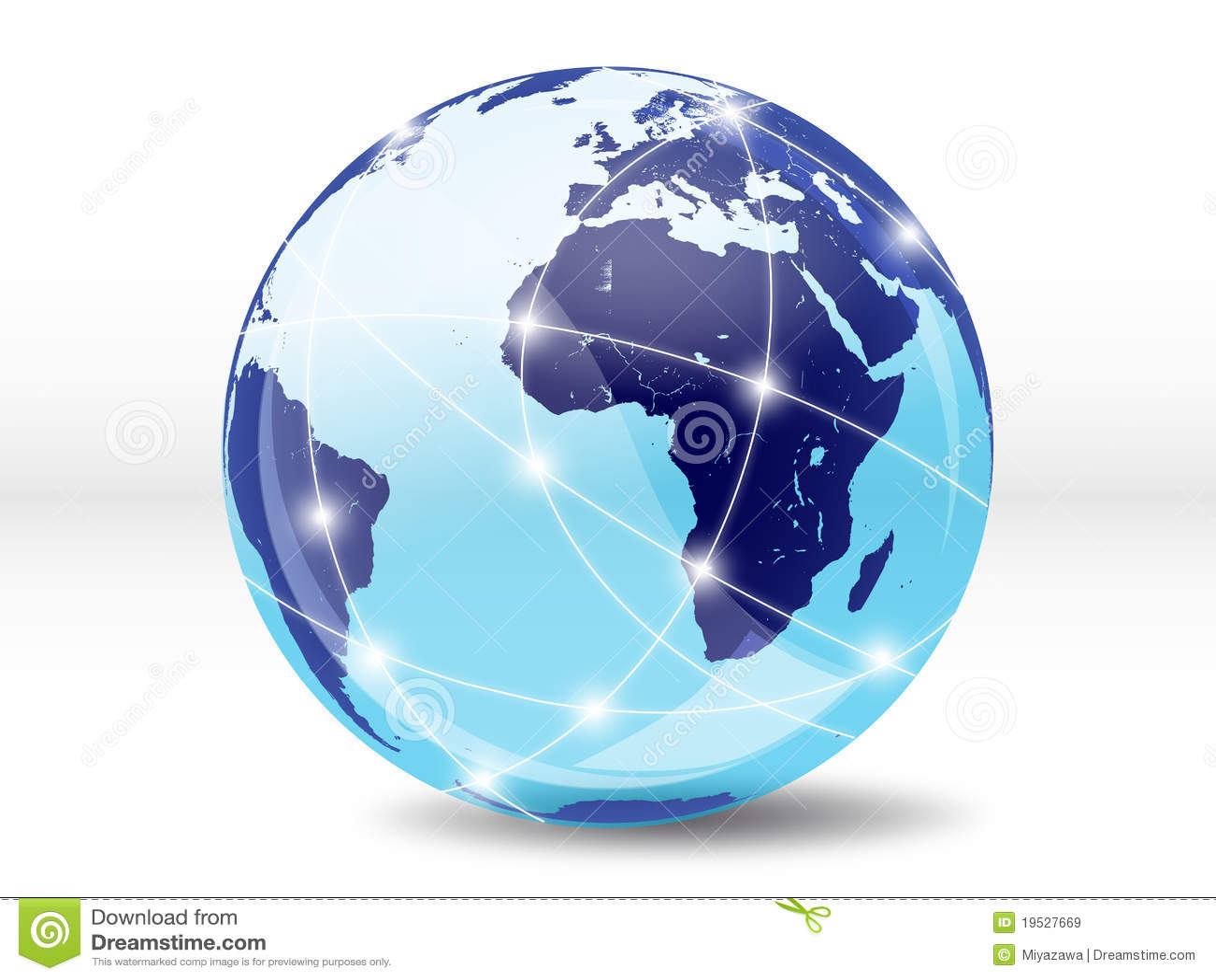 Internet online wereld royalty vrije stock afbeeldingen beeld 19527669 - Mand een machine huis ter wereld ...