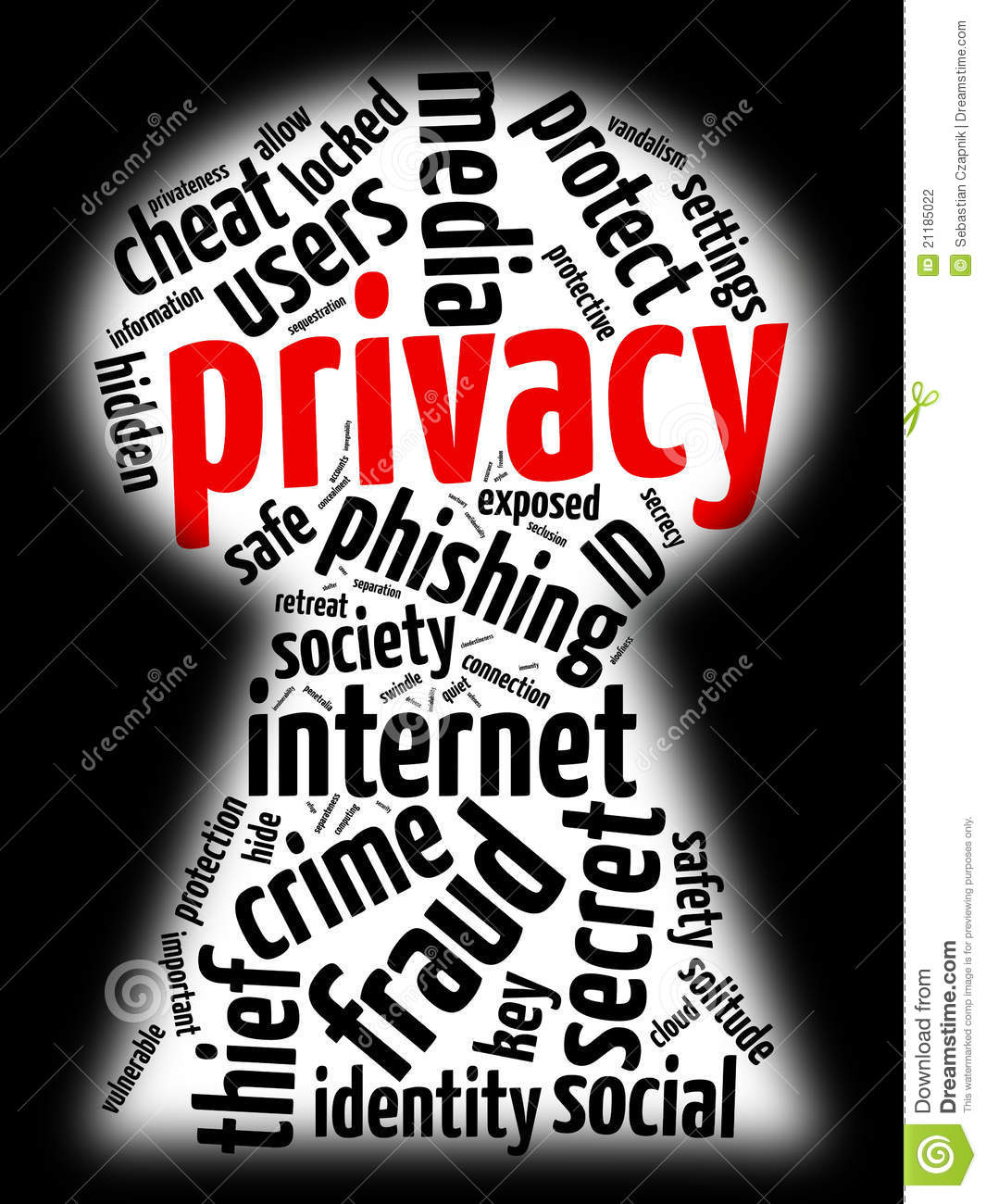 internet privacy stock photography image 21185022 clip art sounds for powerpoint clipart sound animation and graphics