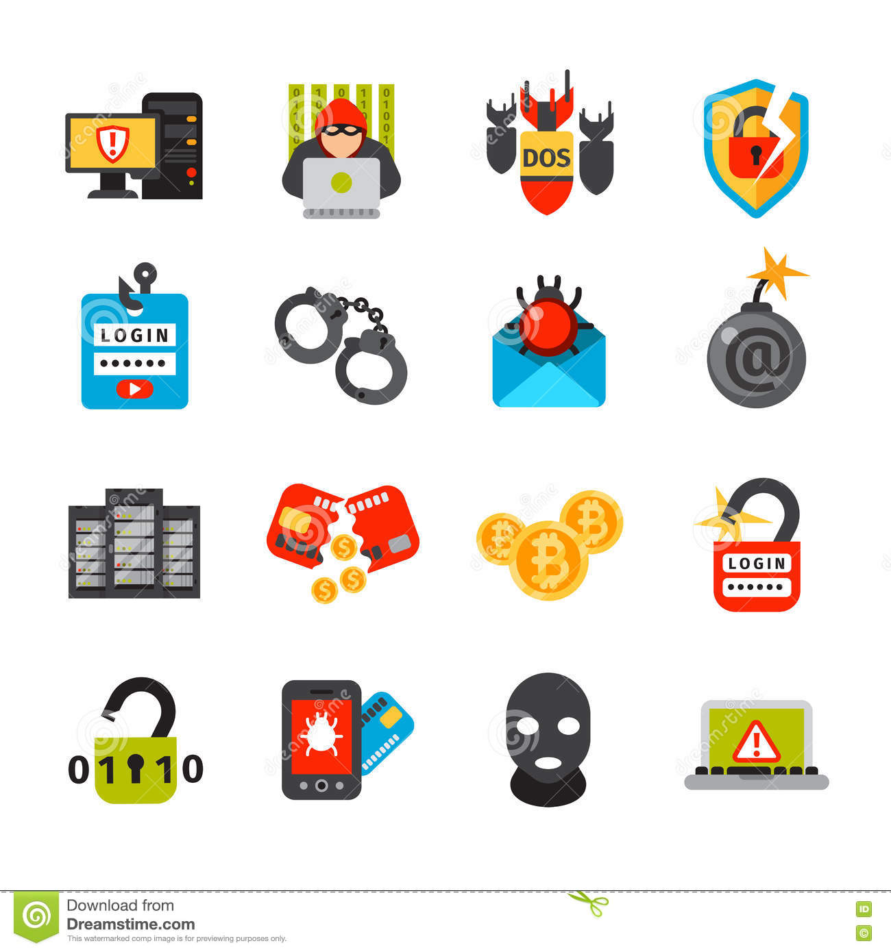 Viral Times Web: Internet Safety Icons Stock Vector. Illustration Of Safe