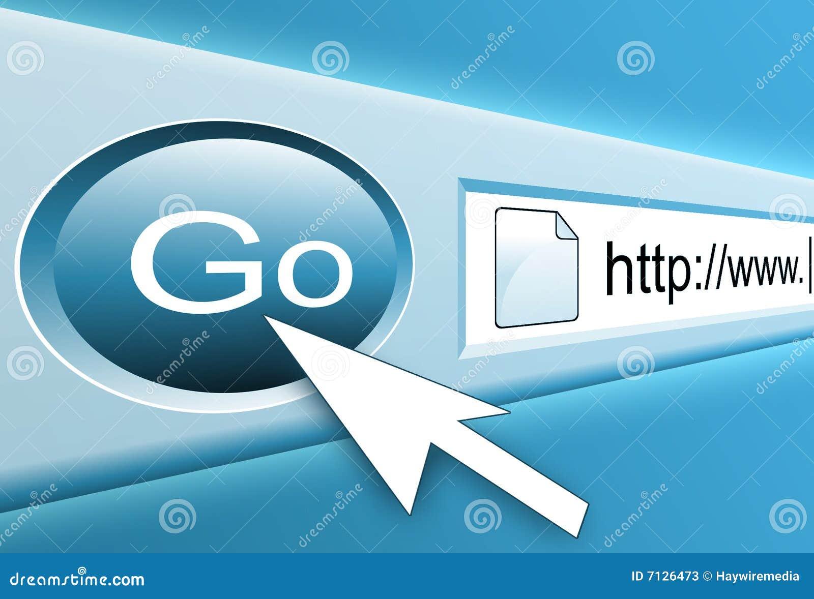 Internet Search Button
