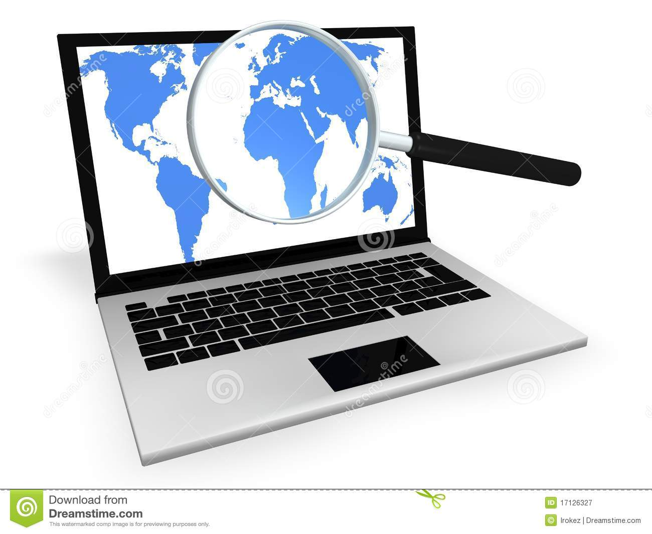 Internet Search For Information Royalty Free Stock ...