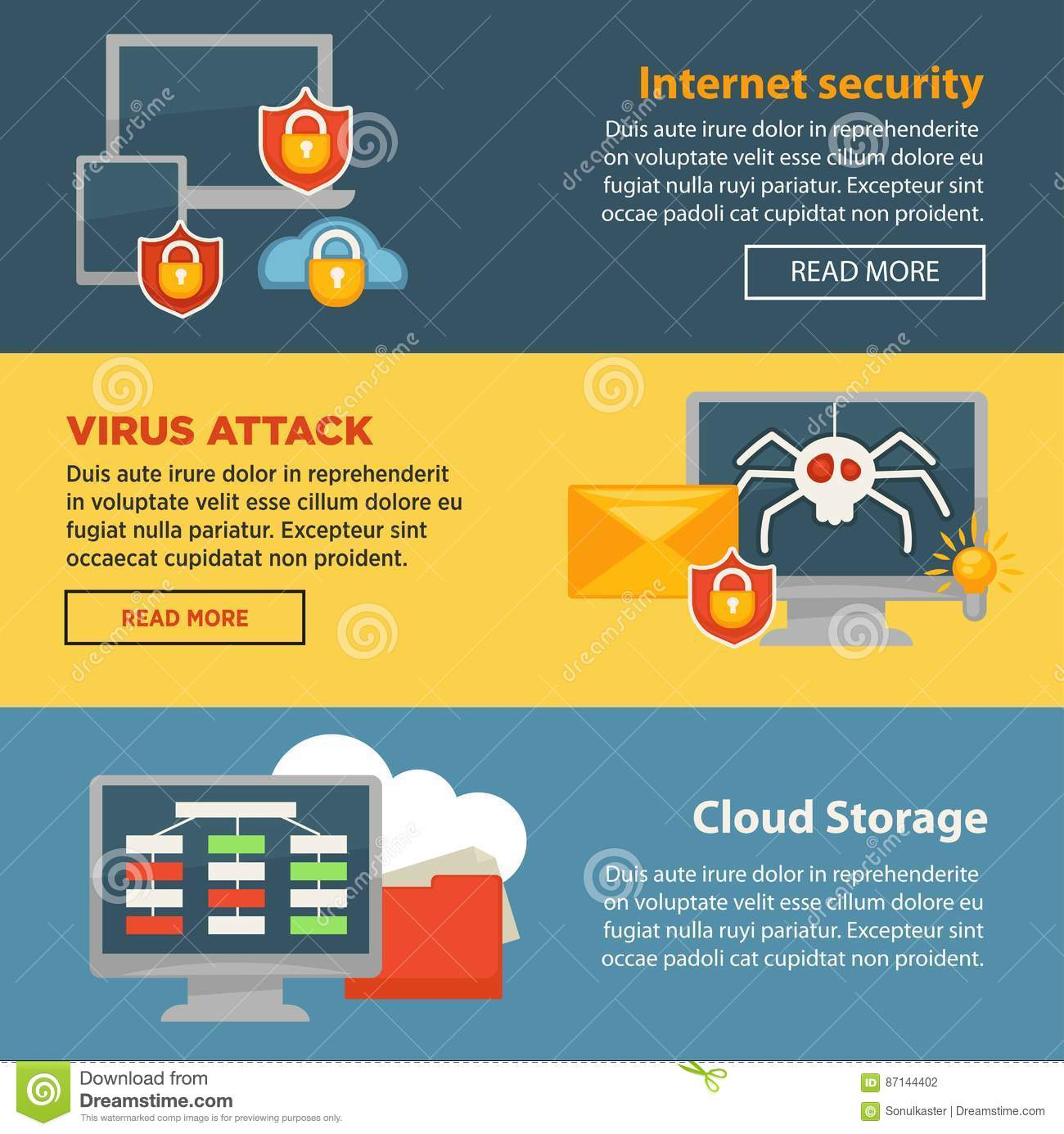 Viral Times Web: Internet Security And Cloud Storage Protection Vector
