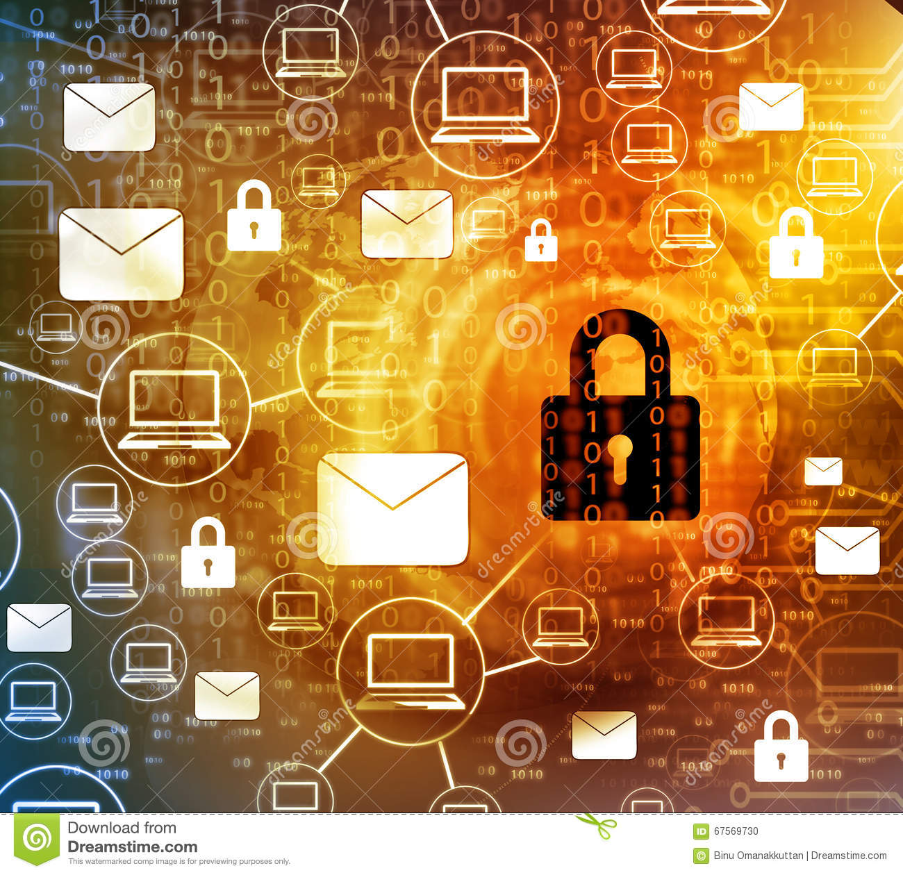 Download Internet Security concept stock photo. Image of password - 67569730