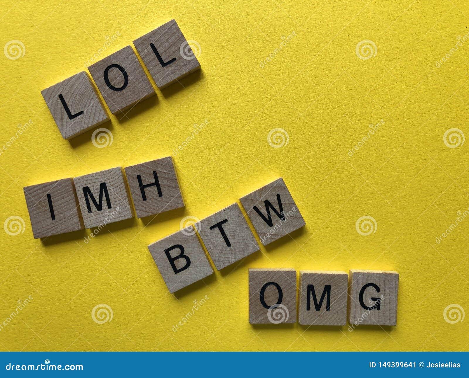 10 Popular Internet Slang Terms Decoded For Middle-Age ... |Internet Slang Btw Meaning