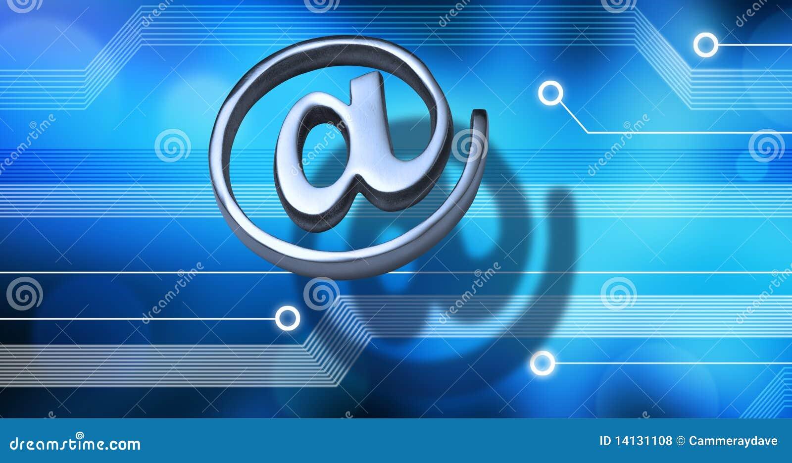 Internet Technologie Hintergrund Stockfoto