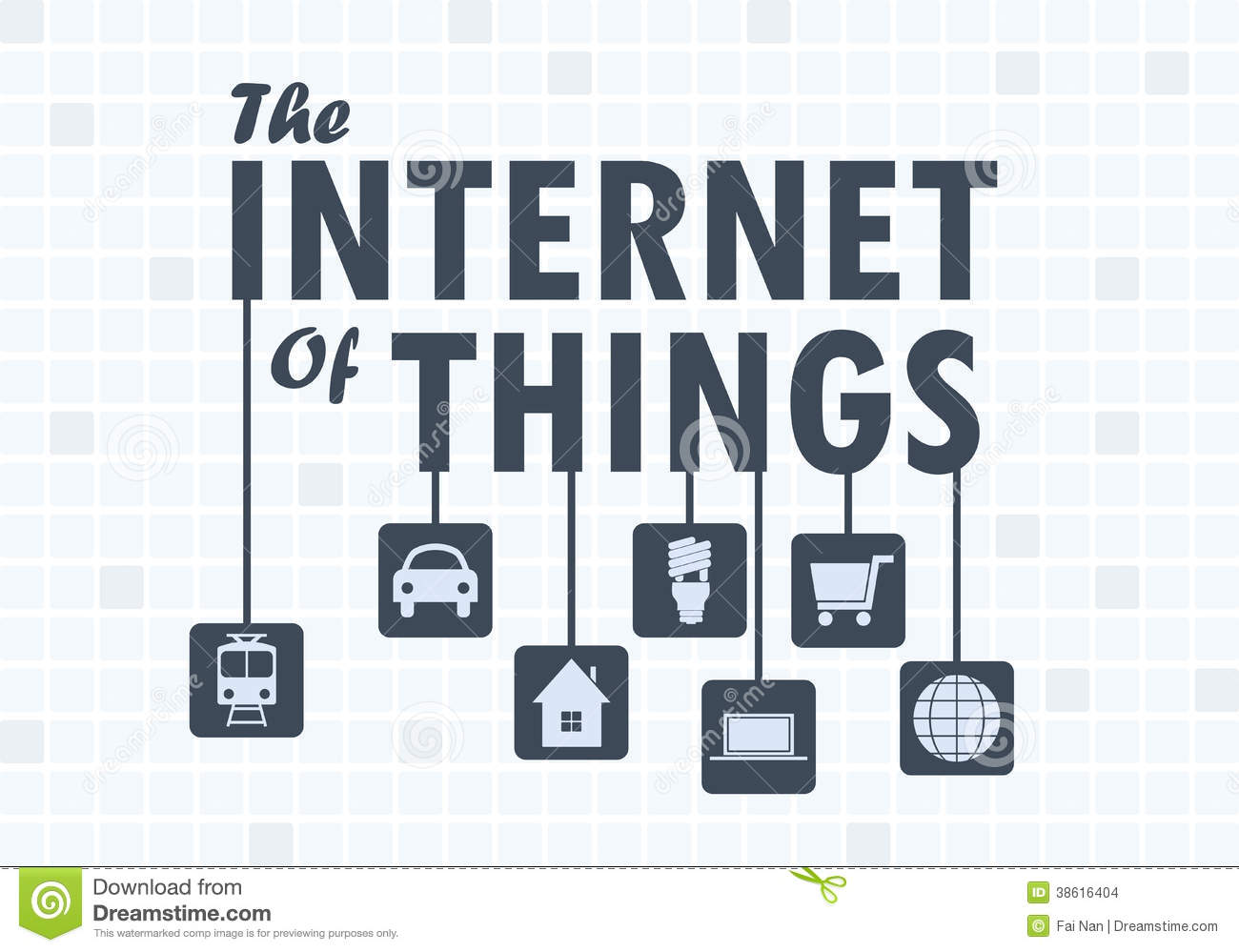 Internet Of Things Concept Stock Images - Image: 38616404