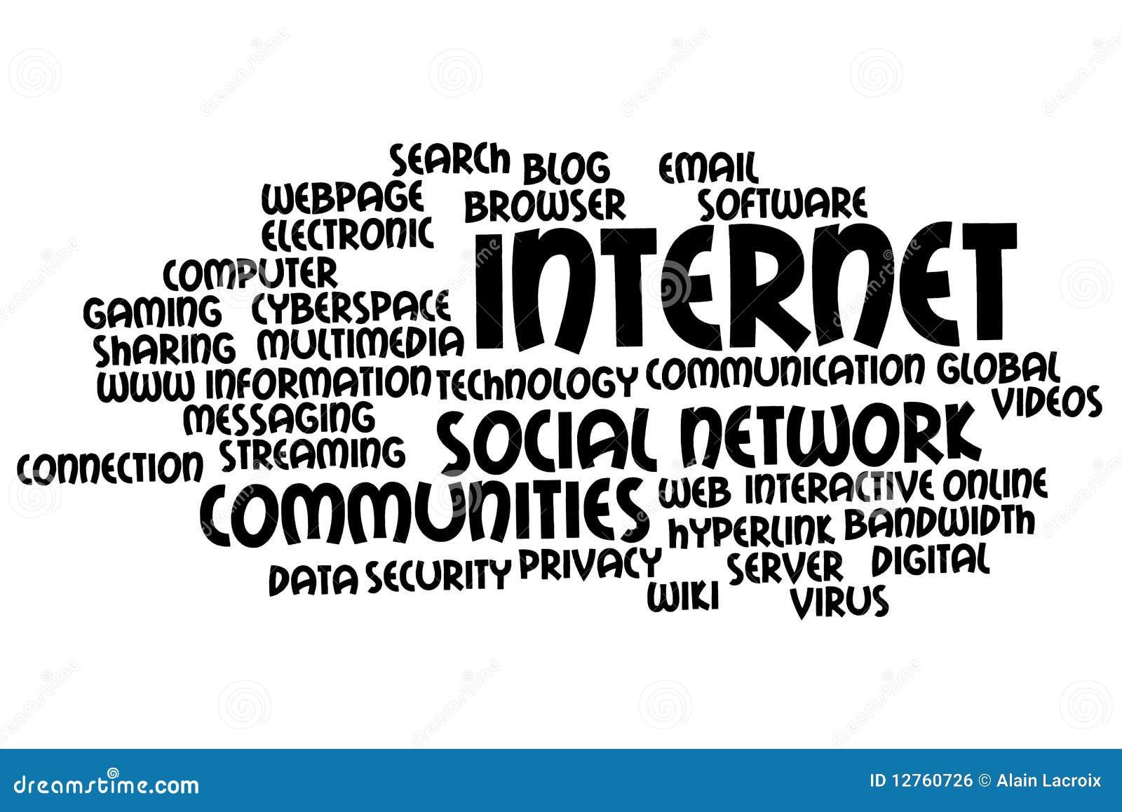internet topics royalty free stock image