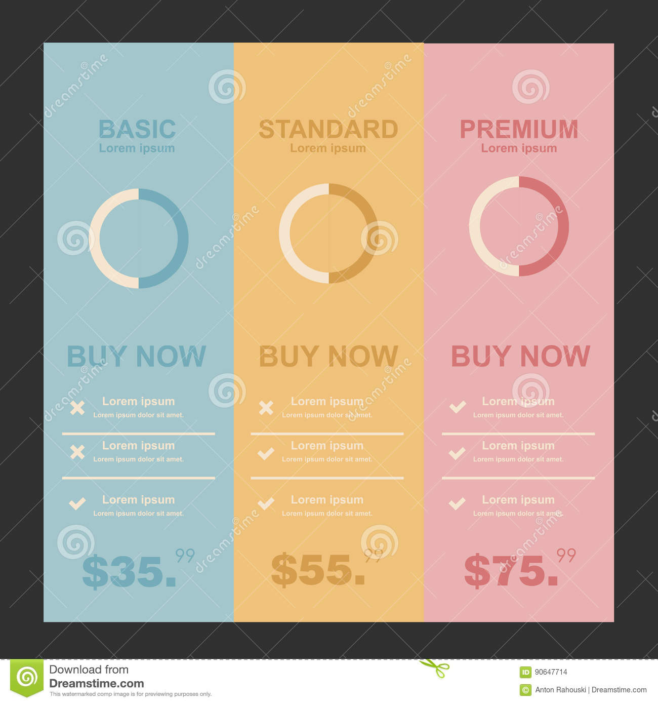 Internet Traffic Set Offer Tariffs  Ui Ux Banner For Web App