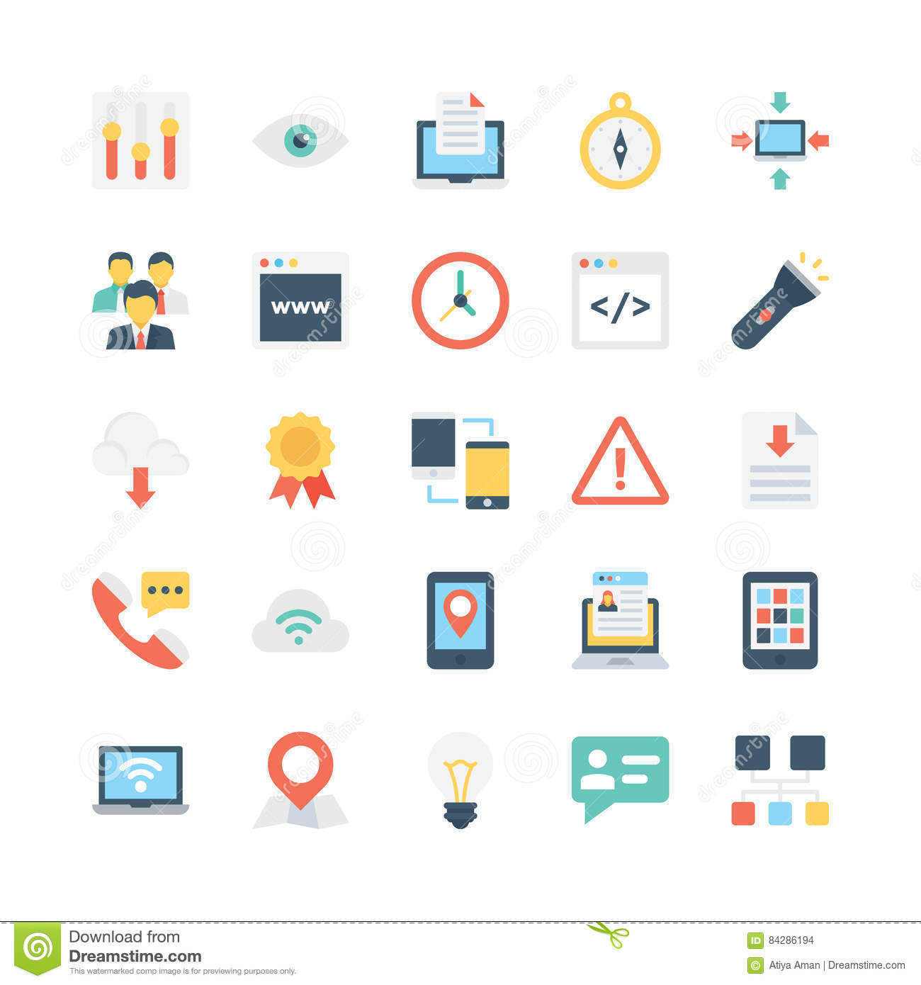 Internet Vector Icons 5