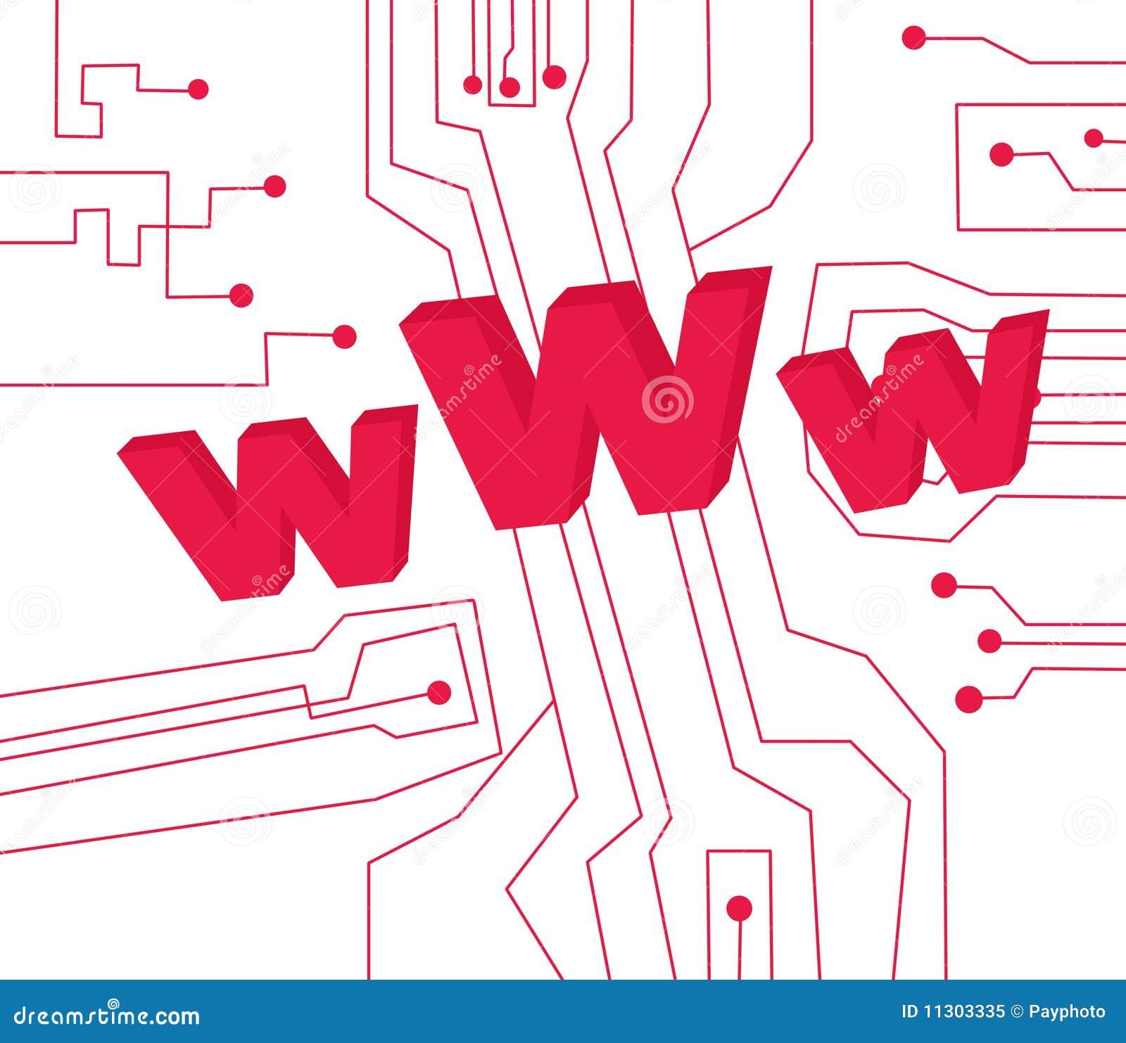 Internet WWW-Abbildung