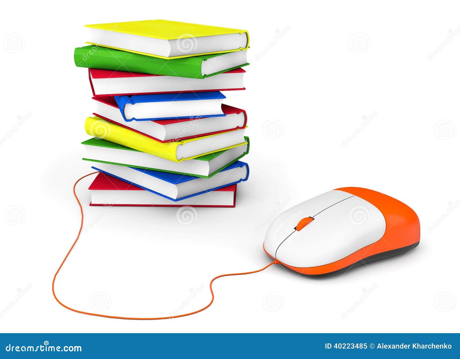 Internetowa edukacja. Książki i komputerowa mysz