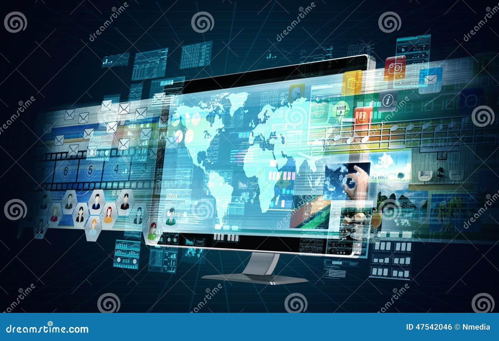 Internetowy Multimedialny serwer
