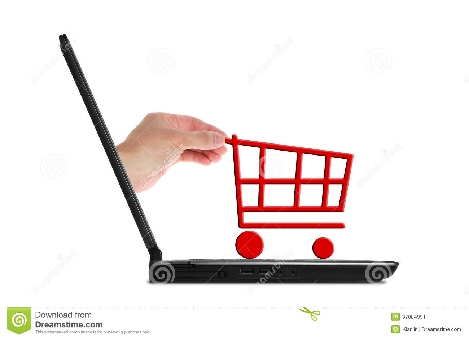 Download Internetowy zakupy obraz stock. Obraz złożonej z sprzedażny - 37084991