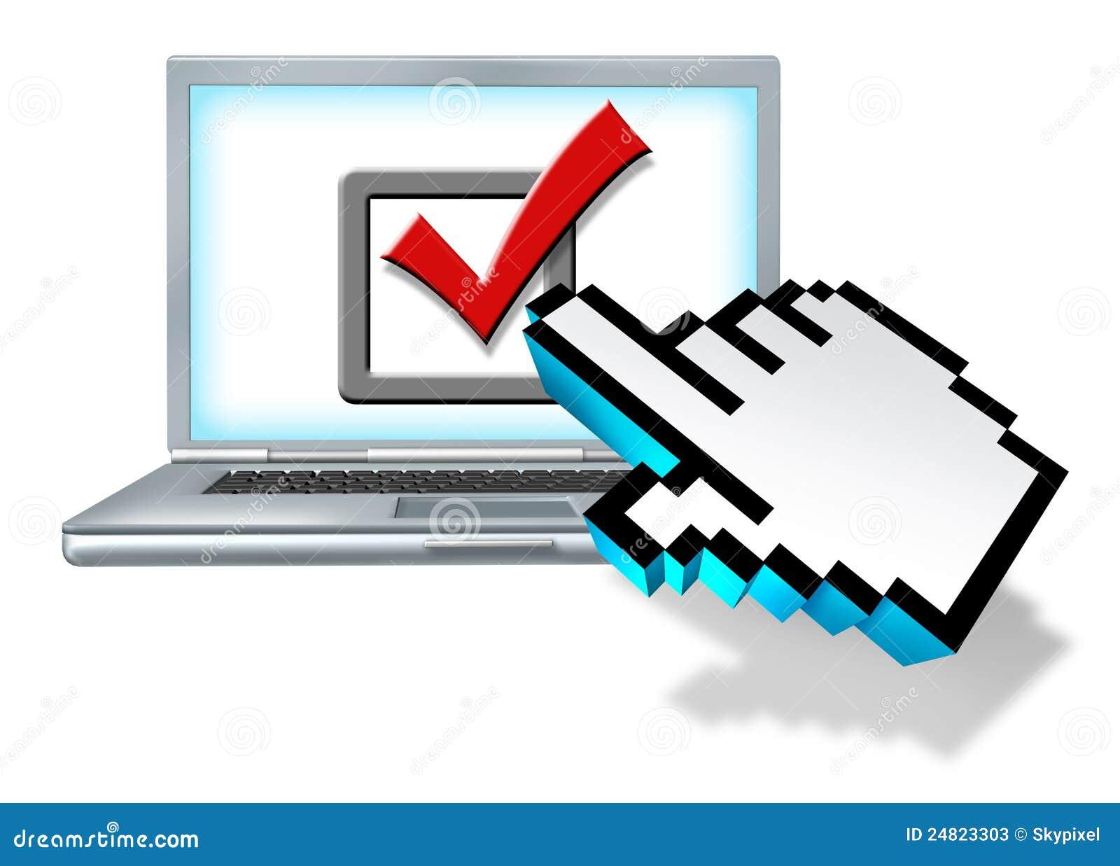 Internety przeglądają głosowanie