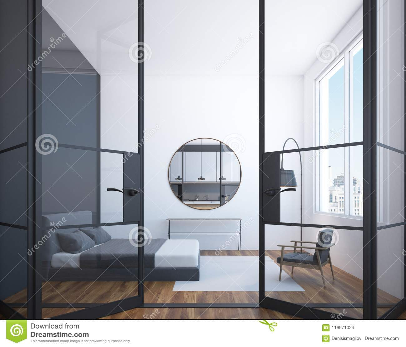 Camera Da Letto Con Specchi