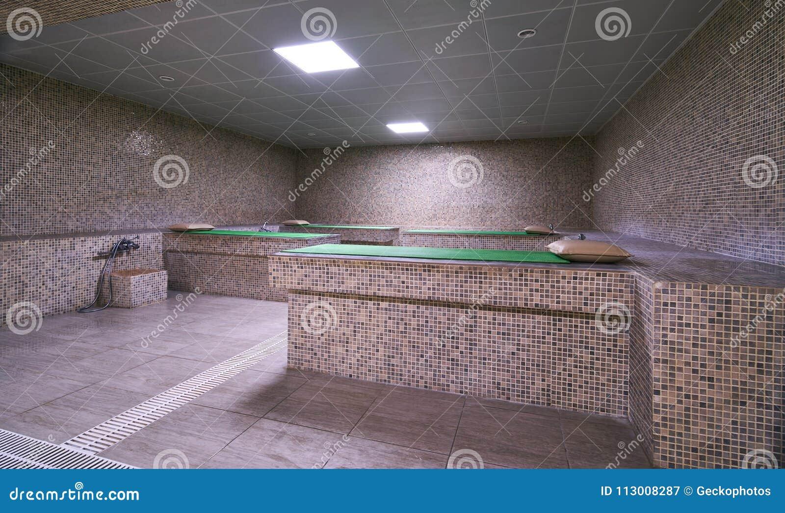 Interno del bagno turco del bagno turco immagine stock immagine di