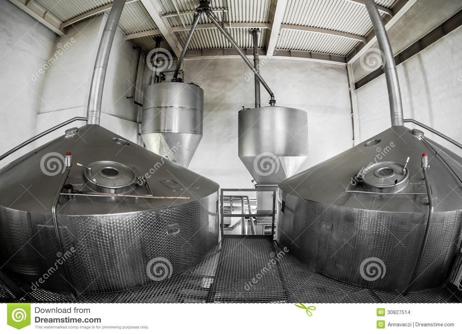Interno del fabbricato industriale
