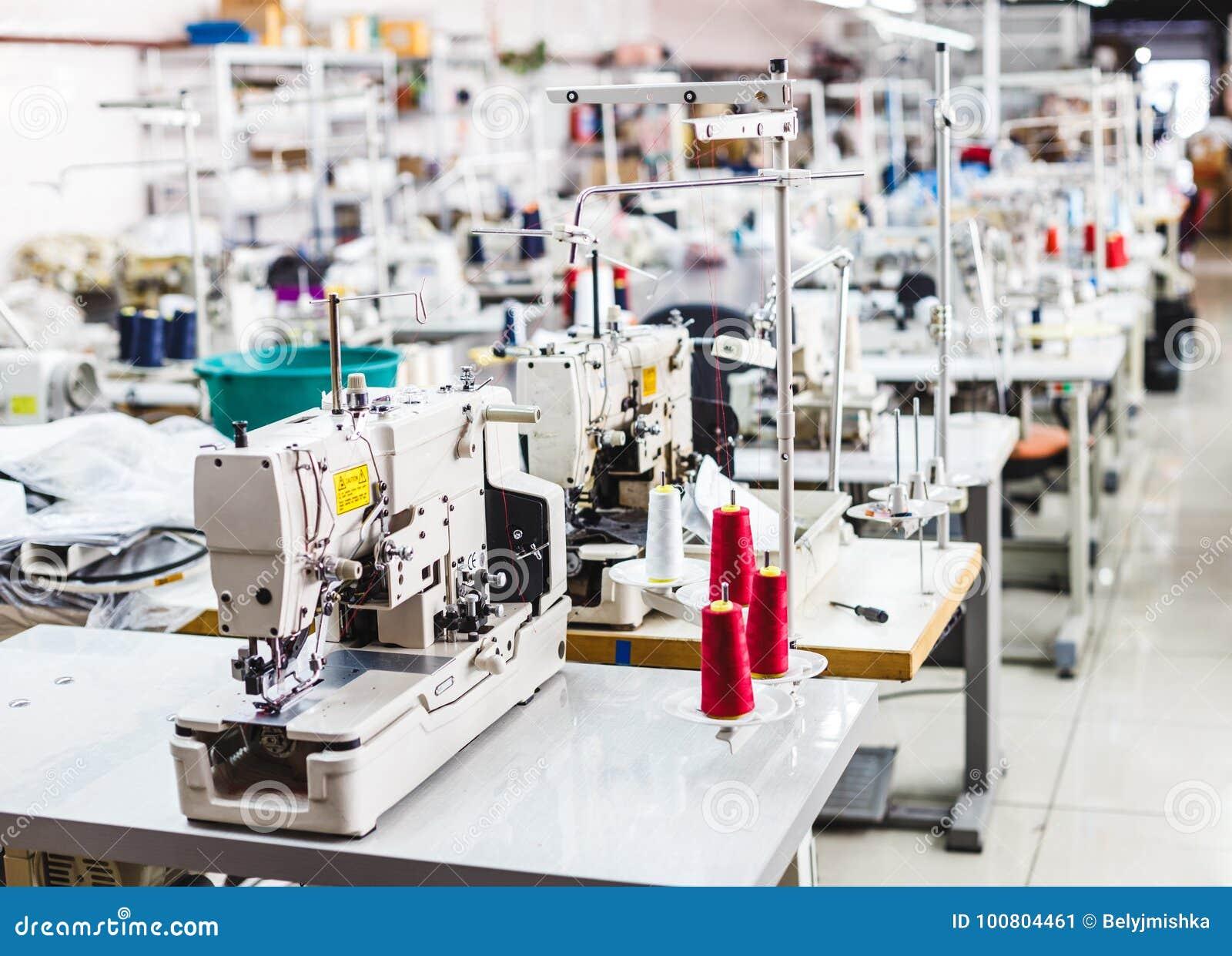 Interno del negozio della fabbrica dell indumento