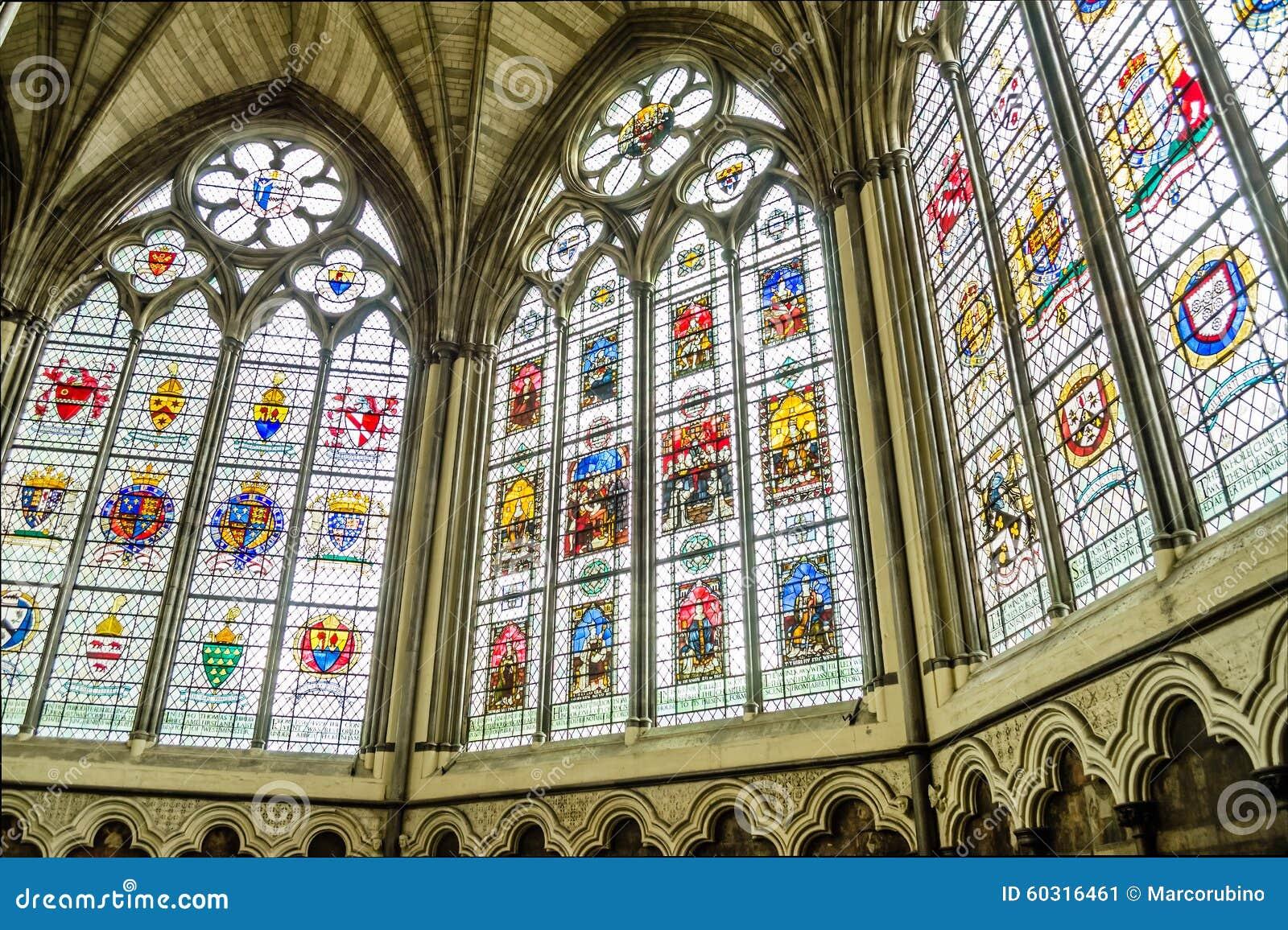 Interno Dell 39 Abbazia Di Westminster Londra Immagine Stock