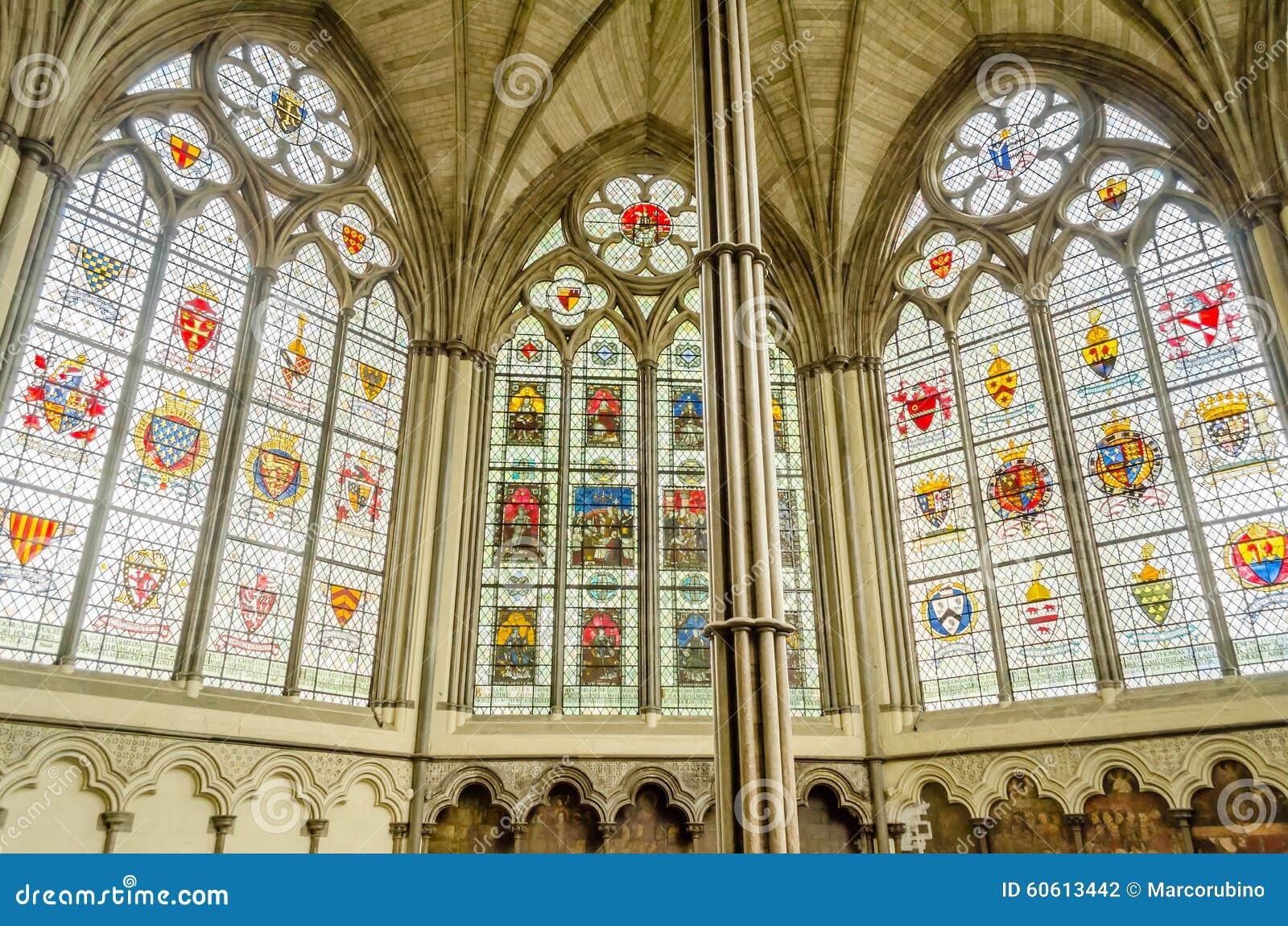 Interno Dell 39 Abbazia Di Westminster Londra Fotografia